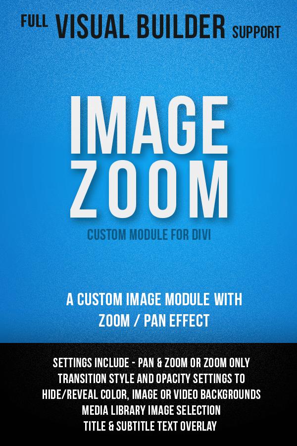 Image Zoom Module for Divi
